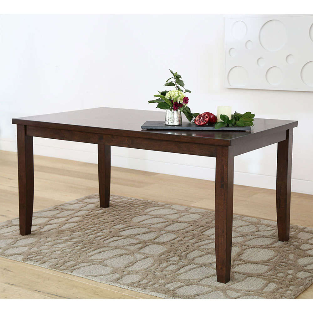 Theodore Dining Table Brown Bamboo500
